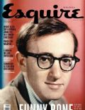Woody Allen on the cover of Esquire (Malaysia) - April 2012