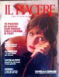 Il Piacere Magazine [Italy] (January 1989)