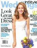 Bree Turner on the cover of Instyle Weddings (United States) - September 2008