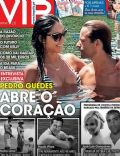Kelly Baron, Pedro Guedes on the cover of Vip (Portugal) - August 2013