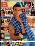 Jean-Claude Van Damme on the cover of Bravo (Germany) - January 1992