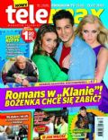 Edyta Herbus on the cover of Tele Max (Poland) - February 2013