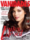 Kristin Kreuk on the cover of Vanidades (Puerto Rico) - April 2014