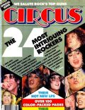 Bret Michaels, Don Dokken, Jon Bon Jovi, Nikki Sixx, Ozzy Osbourne, Rob Halford, Stephen Pearcy, Tom Keifer, Vince Neil on the cover of Circus (United States) - August 1987