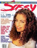Rebecca Gayheart on the cover of Sassy (United States) - February 1993
