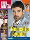 Cielo Rojo, Mauricio Islas on the cover of Tele Novela (Spain) - May 2012