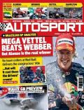 Sebastian Vettel on the cover of Autosport (United Kingdom) - November 2010