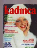 Hülya Koçyigit on the cover of Kadinca (Turkey) - November 1980