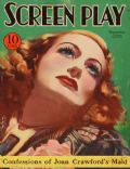 Joan Crawford on the cover of Screen Play (United States) - September 1933