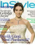 Özge Özberk on the cover of Instyle Weddings (Turkey) - May 2009