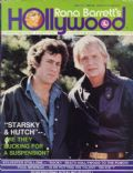 David Soul, Paul Michael Glaser on the cover of Rona Barretts Gossip (United States) - April 1977