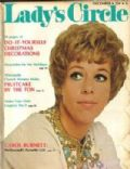 Carol Burnett on the cover of Ladys Circle (United States) - December 1970