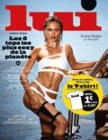 Karmen Pedaru on the cover of Lui (France) - August 2014
