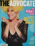 Bette Midler on the cover of The Advocate (United States) - March 2008
