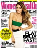 Angelina Jolie, Jessica Alba on the cover of Womens Health (South Africa) - August 2014