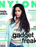 Freida Pinto on the cover of Nylon (Indonesia) - May 2012