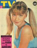 Catherine Spaak on the cover of TV Sorrisi E Canzoni (Italy) - August 1963