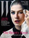 Rosamund Pike on the cover of W (United States) - May 2014
