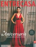 Laura Novoa on the cover of Entrecasa (Argentina) - July 2011