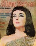 Elizabeth Taylor on the cover of Silver Screen (United States) - April 1962