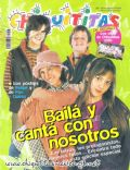 Camila Bordonaba, Felipe Colombo, Felipe Colombo and Camila Bordonaba, Luisana Lopilato, Luisana Lopilato and Felipe Colombo on the cover of Chiquititas (Argentina) - January 2001
