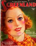 Joan Crawford on the cover of Screenland (United States) - October 1931