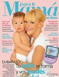 Evangelina Anderson, Martin Demichelis on the cover of Para Ti Mama (Argentina) - October 2010