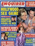 Pamela Anderson, Tommy Lee on the cover of National Enquirer (United States) - March 1995