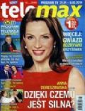 Anna Dereszowska on the cover of Tele Max (Poland) - January 2014