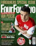 Robin van Persie on the cover of Four Four Two (United Kingdom) - April 2012