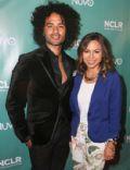 Anjelah Johnson-Reyes and Manwell Reyes