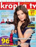 Agnieszka Sienkiewicz on the cover of Kropka TV (Poland) - November 2012