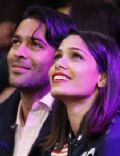 Freida Pinto and Ronnie Bacardi