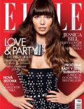 Jessica Biel on the cover of Elle (Czech Republic) - February 2013