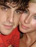 Felicity Jaine and Fernando Alonso