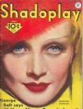 Marlene Dietrich on the cover of Shadoplay Magazine (United States) - July 1934