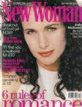 Andie MacDowell on the cover of New Woman (United Kingdom) - October 1996