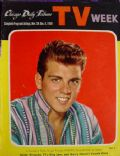 Fabian on the cover of TV Week (United States) - November 1959