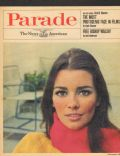 Astrid Heeren on the cover of Parade (United States) - February 1969