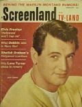 Rock Hudson on the cover of Screenland (United States) - January 1961