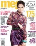 Maja Salvador on the cover of Meg (Philippines) - October 2011