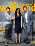 Edward Norton, Jeremy Renner, Rachel Weisz on the cover of Style Weekend (Philippines) - July 2012