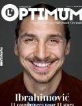 Zlatan Ibrahimovic on the cover of L Optimum (France) - May 2014