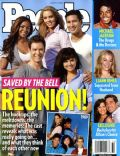 Elizabeth Berkley, Mario López, Mark-Paul Gosselaar, Tiffani Thiessen on the cover of People (United States) - August 2009