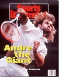 Andre Agassi on the cover of Sports Illustrated (United States) - July 1992