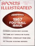 on the cover of Sports Illustrated (United States) - September 1957