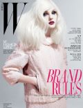Jessica Stam on the cover of W (South Korea) - February 2011