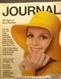 Twiggy on the cover of Ladies Home Journal (United States) - October 1967