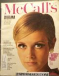 Twiggy on the cover of McCalls (United States) - July 1967