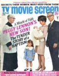 Peggy Lennon on the cover of TV and Movie Screen (United States) - January 1968